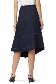 High Waisted Flare Skirt by 3.1 Phillip Lim