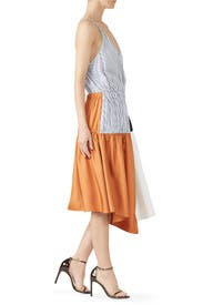 Colorblock Camille Dress by Tibi