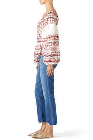 Embroidered Alma Top by AMUR