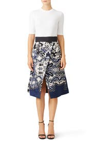 Denali Skirt by Tibi