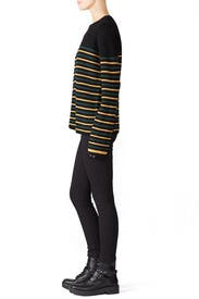 Black Meryl Sweater by A.L.C.