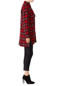 Red Plaid Shirt by The Kooples