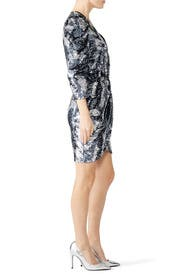 Sequin Camo Zoey Dress by Tanya Taylor