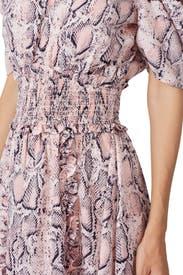 Snake Print Mia Dress by ELLIATT