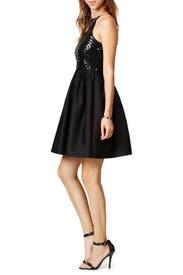 Black Phoebe Dress by Raoul
