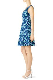 Floral Knot Shoulder Dress by Draper James