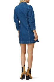 Marble Denim Dress by Sea New York