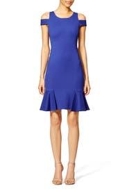 Off Cobalt Dress by Rebecca Taylor