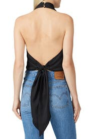 Halter Neck Crop Top by J.O.A.
