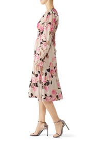 Blooms Smocked Dress by PINKO
