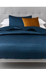King Gramercy Bedding Bundle- Blue by West Elm