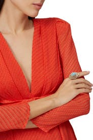 Spiral Cocktail Ring by Alexis Bittar