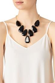 Black Harlow Necklace by Kendra Scott