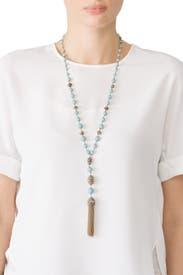 Endless Style Pendant Necklace by Jenny Packham