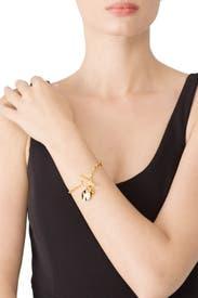 Gold Chloe Toggle Bracelet by Gorjana Accessories