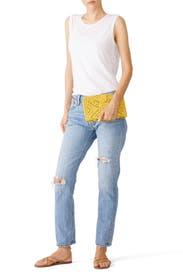 Saffron Mexicana Clutch by Cleobella Handbags