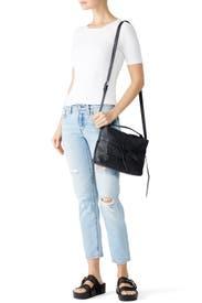 Black Cami Bag by AllSaints