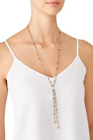 Multi Emmy Lariat by Elizabeth and James Accessories
