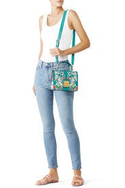 Printed Metropolis Small Top Handle Bag by Furla