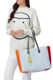 Colorblock Perry Tote by Tory Burch Accessories