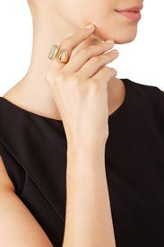 Gold Blake Ring by Elizabeth and James Accessories