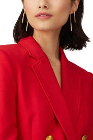Celeste Linear Drop Earrings by DEMARSON