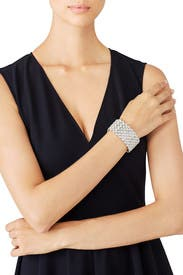 Fancy Stretch Bracelet by Kenneth Jay Lane