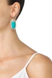 Deva Turquoise Earrings by Kendra Scott
