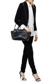 Black Leroy Satchel Bag by Botkier