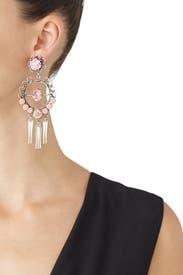 Pink Samara Earrings by Dannijo