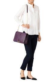 Aubergine Love Jumbo Bag by Rebecca Minkoff Accessories
