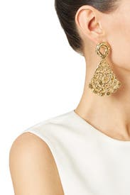 Morgana Earrings by Alexandra Koumba