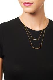 Knox Pave Necklace Set by Gorjana Accessories