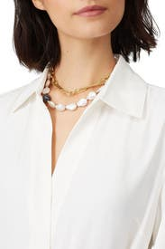 Harbor Necklace by Lizzie Fortunato