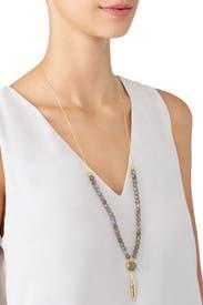 Labradorite Gypset Adjustable Necklace by Gorjana Accessories