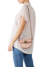 Blush Oslo Crossbody by DeMellier London