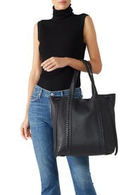 Black Ray North South Tote by AllSaints