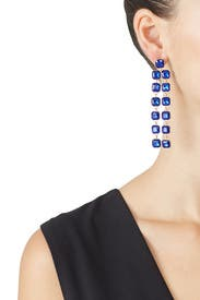 Royal Blue Earrings by Slate & Willow Accessories