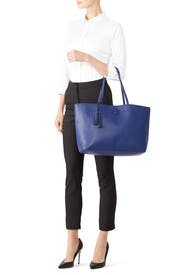 Indigo McGraw Tote by Tory Burch Accessories