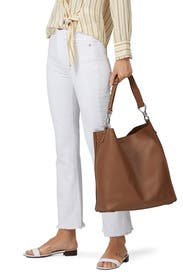 Brown Captain Leather NS Tote by AllSaints