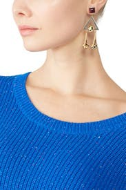 Geo Statement Earrings by Tory Burch Accessories