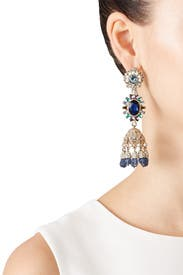Regal Affair Drop Earrings by Marchesa Jewelry
