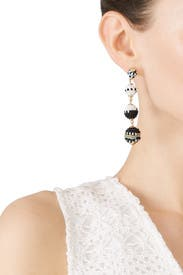 Blair Beaded Drop Earrings by Rebecca Minkoff Accessories