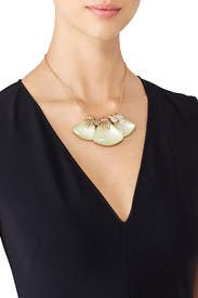 Triple Crystal Necklace by Alexis Bittar