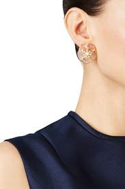 Sunset Blossoms Statement Studs by kate spade new york accessories