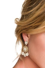 Southern Plantation Earrings by Nicole Miller Accessories