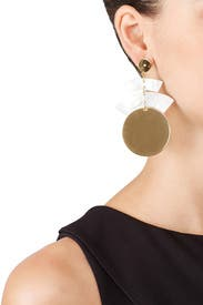 Gold Terri Earrings by Elizabeth and James Accessories