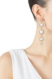 Gretchen Pearl Earrings by Elizabeth Cole