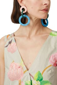 Tribal Ring Earrings by Joanna Laura Constantine