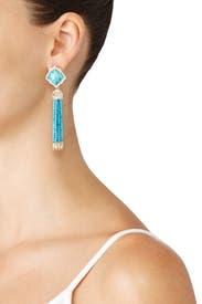 Turquoise Misha Earrings by Kendra Scott
